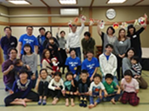 クリスマス会の集合写真