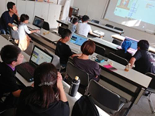 プログラミング教室の写真