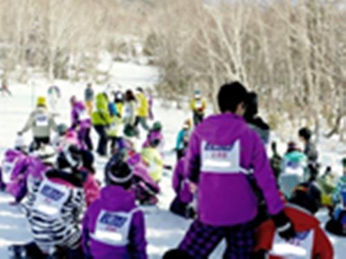 スキーキャンプの写真